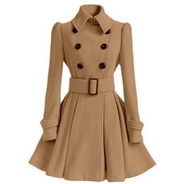 2018 осень новый бренд женщин пальто длинные ветровка Европа Америка мода тенденция двубортный тонкий длинные траншеи MKI789 от