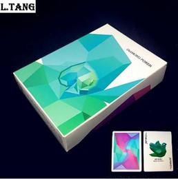 54шт алмазные игральные карты коллекция черный основной бумаги покер творческий подарок магия стандартные карты 88мм * 63мм L469 от
