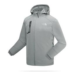Vellón a prueba de viento de los hombres online-Chaqueta con capucha blusa Apex Blusas chaquetas de piel sintética de los hombres al aire libre a prueba de viento a prueba de agua escalada cara outwear 520