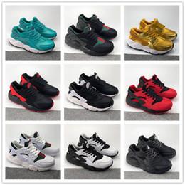 Wholesale cheap winter shoes for women - Cheap Air Huarache I Running Shoes For Men Women,Green White Black Gold Sneakers Triple Huaraches 1 Trainers huraches Sports Shoe 36-45