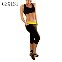 fb866b1a9c6a GZXISI New Fashion Super Stretch Neoprene Pants For Women Hot Body Shaper  Slim Control Panties Women Black Slim Pants Hot Sales