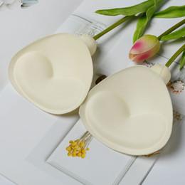 8b948484a4341 20 pairs lot Women Pads Enhancers Thin Sponge Foam Bra Pads Chest Cup  Breast Bikini Insert Chest Pad Swimsuit Padding Inserts