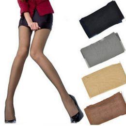 chaussettes à papillon en gros Promotion Collants magiques super élastiques bas en soie jambes maigres collants sexy noirs empêchent crochet médias en soie femmes bas