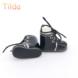 Wholesale boots coat - Tilda 2.5cm Mini Doll Boots for Blythe Dolls Toy,Lovely Cute PU Leather Dolls Shoes for BJD,Casual Doll Accessories High Quality