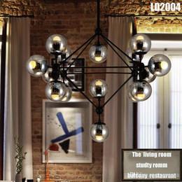 Wholesale Modern Italian Living Rooms - Pendant Lamps (4 5 8 10 16 15 21-Heads)italian lighting living room Porch lighting Living Room Pendant Wall Lamp Light Lighting