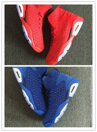 Wholesale chinese cheap shoes - Wholesale NEW Cheap 6 VI china Chinese blue red 6s MEN basketball shoes sports sneakers trainers 2018 high quality size 8-12