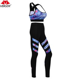 Wholesale Perfect Bras - Vbiger Women Sports Bra and Pants Set Wirefree Yoga Wears Perfect for Yoga Pilates Running and Dancing