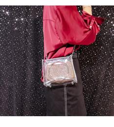 2019 sac à bandoulière d'extérieur 2018 nouveau Femme Transparent Sac Clear PVC Jelly Petit Fourre-Tout Messenger Sacs Crossbody Sac À Bandoulière En Plein Air Sacs De Plage sac à bandoulière d'extérieur pas cher