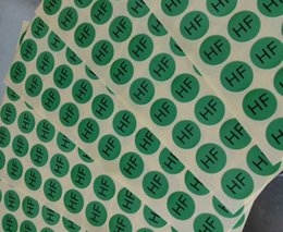 Wholesale Self Sticker - Environmental protection without halogen spot ellipse self-adhesive label paper,Consumer electronics stickers