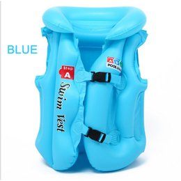 Wholesale Children Pool Safety - Life Vest Kids Jacket Swimming Fishing PVC Pool Accessories Ring Water Safety Products Clothes Surfing Sports New Boating