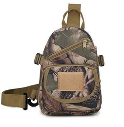 Wholesale Small Camps - Men's Camping bag Camouflage Military Shoulder Chest Pack Bag Male Qualited Fashion Camouflage Waist Bags Bolsa Masculina LJJE15