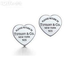 gabinetes coreanos Desconto Qualidade superior 100% Tiffany925 Brinco de prata Brincos de marca com caixa