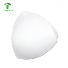 Wholesale nude underwear - TIMSOAR 5 Pairs Lot Sports Bra Cups Removable Pads Triangle Sponge Insert Cup For Underwear Bra Soft Black White Nude Padded Cup