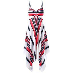 Wholesale tankini skirted swimsuit - Female Maternity Swimwear Newest Sexy Padded Skirt Swim Wear Stripe Women One Piece Swimsuit Beachwear Bathing Suit Dress