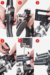 telefonhalterung halter Rabatt Fahrrad-Telefon-Halter-Aluminiumlegierungs-Fahrrad-Fahrrad-Halter-Handgriff-Telefon-Berg-Lenker-Extender Fiets Telefon Houder