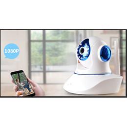 2019 costruire la rete wireless 2018 Nuova videocamera di rete wireless Million HD Altoparlanti incorporati Dual Intercom Interfono Remoto Ampio con un cicalino Baby monitor sconti costruire la rete wireless
