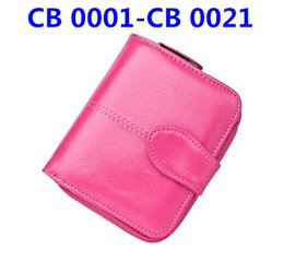 Wholesale Cb Red - CB 0001-CB 0021 Promotion new mens top Wallet Men 2018 Brand Wallet new women Men's Pouch Short Men Wallet Free shipping