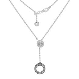 Pendenti della collana dell'argento della firma di autunno 2018 collane dell'argento sterlina 925 monili originali di DIY per le donne che fanno commercio all'ingrosso da