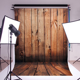 Wholesale Vintage Photography Backdrops - Photography Backdrops vinyl background for photo studio vintage wood baby background 2.1*1.5m Hot Sale