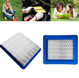 Wholesale Parts Mower - Hot Air Filter Replacement For Briggs and Stratton 491588S 399959 Mowers Parts Durable EEA209 Blue 50pcs