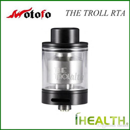 Wotofo troll on-line-Autêntico Wotofo The Troll RTA Atomizador Único post design Top Enchimento 5ml enorme capacidade Troll RTA