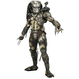 Wholesale predator toys - oys Hobbies Action Toy Figures Free Shipping NECA Predator Series 8 Classic Predator 25th Anniversary Jungle Hunter PVC Action Figure Mod...