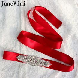 JaneVini свадебный пояс жемчуг и стразы бордовый роскошные свадебные ремни с камнями Алмаз бисером невесты платье пояса ленты пояс от