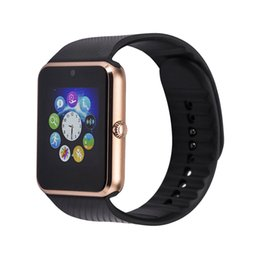 Wholesale Hot Portuguese - New Hot Smart Watch GT08 Support Sim Card Bluetooth Connectivity for Apple Iphone Android Phone Smartwatch