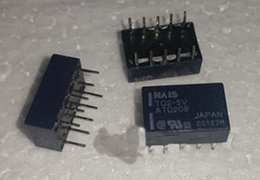 Wholesale 5vdc Relay - 10pcs lot TQ2-5V TQ2-DC5V TQ2-5VDC DIP10 USED BUT IN GOOD WORKING CONDITION