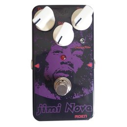 Wholesale Guitar Vibrato - MOEN Jimi Nova Vibe Vibrato Chorus Effects Electric Guitar Effect pedal True Bypass AM-VB