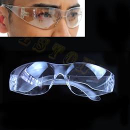Anti radiazioni trasparenti trasparenti del laboratorio di chimica di vetro degli occhiali di protezione dell'occhio protettivo da