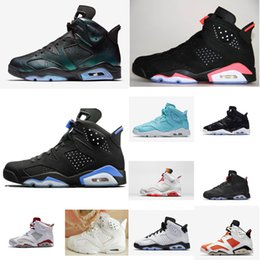 dab906c76b7e Cheap women Jumpman 6 VI basketball shoes J6 infrared Black White Oreo Red  Blue UNC Green AJ6 sneakers boots 6s for kids boys girl with box
