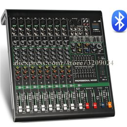 Wholesale Mixer Channel - 48V 10 Channel Bluetooth USB Mixer With Reverberation Stage Performance Karaoke KTV Wedding Special Mixer