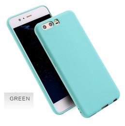 Huawei Cep telefonu için kabuk şeker katı renk buzlu Telefon koruyucu kapak için P10plus TPU yumuşak cep telefonu kılıfları nereden cep telefonu şekerlemeleri tedarikçiler