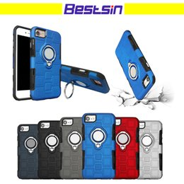 Wholesale Apple Shapes - Bestsin Ice Cube Shape Design Style With Magnetic Kickstand Function Phone Case Comfort Touch Feeling for Iphone 7 8 Iphone X