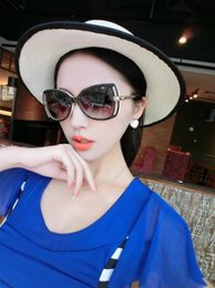Wholesale Cc Glasses - Top sell vogue Female hollow out cc stylish sunglasses diamante designer women brand designer sun glasses 5344 AAA+++