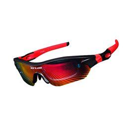 2019 occhiali da sole a balestra GUB 5300 Occhiali da ciclismo polarizzati Occhiali protezione UV400 Occhiali da equitazione sportivi Equipaggiamento da ciclismo per uomo donna
