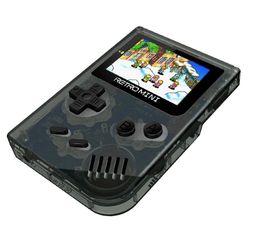 Mini consola de juegos portátil retro Videojuegos de mano GBA con color transparente en blanco y negro, multilenguaje DHL gratis desde fabricantes