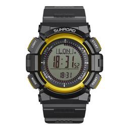 0b48779a97c barómetro digital del altímetro Rebajas SUNROAD Reloj digital para hombres  Correr Escalada Senderismo Barómetro deportivo Altímetro