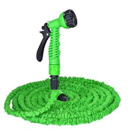ugelli spray spray per tubi da giardino Sconti Tubo flessibile magico Deluxe 25 50 Tubo d'acqua flessibile espandibile da 100 piedi, 100 piedi, 3 x Ugello a spruzzo 7 in 1 estensibile