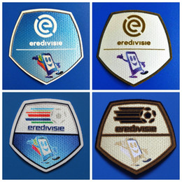 Wholesale arm basketball - New Eredivisie patch golden champion football arm Print ,Soccer Hot stamping Badges