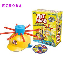 Wholesale Roulette Game - Ecroda 2017 New Parents Kids Wet Head Water Roulette Family Game Fun Kid Challenge Hat Practical Jokes Toy
