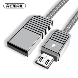 зарядное устройство для телефона Скидка Zinc Alloy Spring-steel Micro USB Data Cable Aluminum Charging Cable Fast USB Charger for /xiaomi/android Phone REMAX