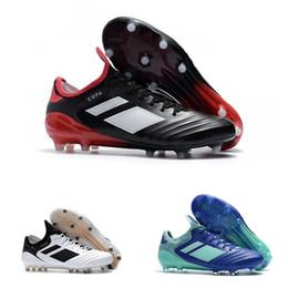 2018 new arrival mens leather soccer cleats Copa 18.1 FG soccer shoes copa  mundial 18 chaussures de football boots scarpe calcio d07d2d964