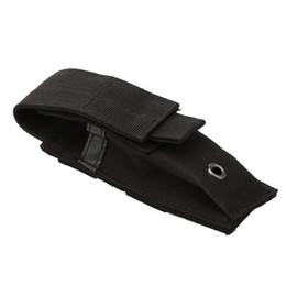 Coltelli camo online-Borsa militare Molle Pouch Tactical Single Pistola Magazine Pouch Knife Torcia Flashlight Airsoft Caccia Munizioni Camo Borse