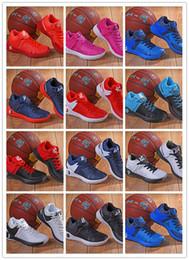 mejores zapatos kd Rebajas Original 2018 Mejor Nueva llegada Auténtico KDES TREY 5 zapatos de baloncesto Uptempo más para hombre Zapatillas deportivas Zapatillas deportivas TAMAÑO 40-46