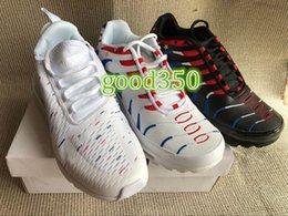 buy online 54567 5d03c 1998-2018 Coupe du Monde France Champion 2 étoiles Air Nike Air Max airmax  TN Plus Chaussures de course Hommes Femmes deux étoiles 270 Baskets Blanc  Noir ...