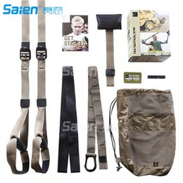 Wholesale Complete Road - T4 Training - Suspension Trainer Basic Kit + Door Anchor, Complete Full Body Workouts Kit for Home and on the Road