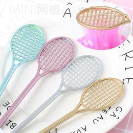 Wholesale Kid Science Kits - DIY Mini PVC Badminton Racket for Kids Fluffy Slime Crystal Soil Kit Clear Slime Floam Putty Cream Keyboard