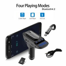 Nuevo ER9 4.2 Bluetooth manos libres reproductor de música MP3, auriculares inalámbricos para empresas, kit de coche Bluetooth, cargador USB, envío gratis desde fabricantes